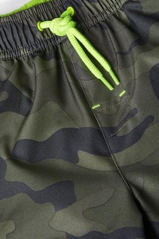 Camouflage Swim Shorts (3-16yrs)