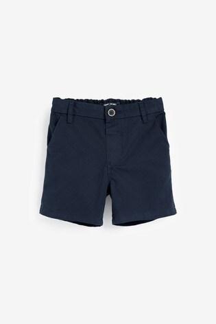 Navy Chino Shorts (3mths-7yrs)