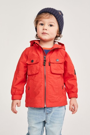 Red Utility Anorak (3mths-7yrs)