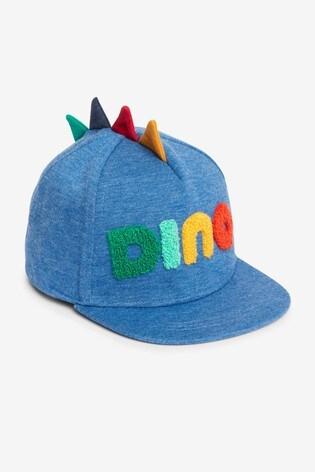 Blue Dino Spike Cap (3mths-10yrs)