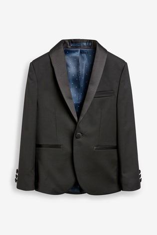 Black Jacket Tuxedo Jacket (3-16yrs)