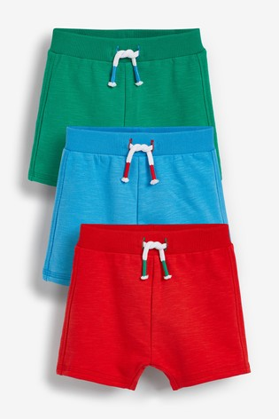 Brights 3 Pack Shorts (0mths-2yrs)