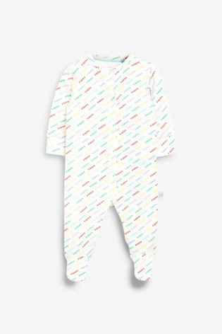 Little Bird Printed Sleepsuit