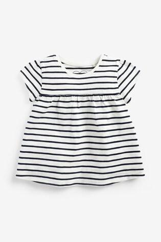 Breton Stripe Cotton T-Shirt (3mths-7yrs)