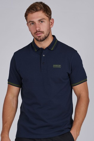 Barbour® International Grid Tipped Polo