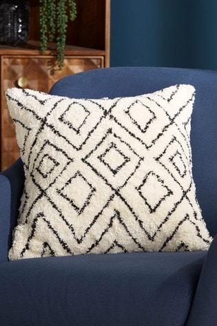 Tufted Berber Square Cushion