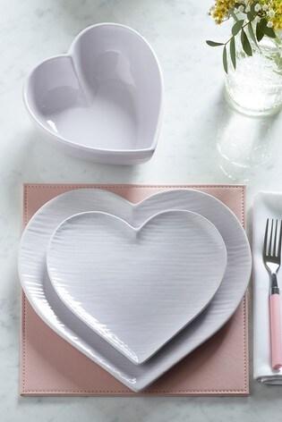 Hearts 12 Piece Dinner Set
