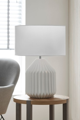 Akira 2 Light Porcelain Table Lamp, Porcelain Table Lamp