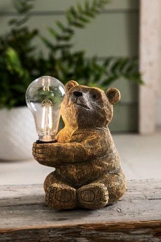 Barnaby Bear Solar Table Lamp