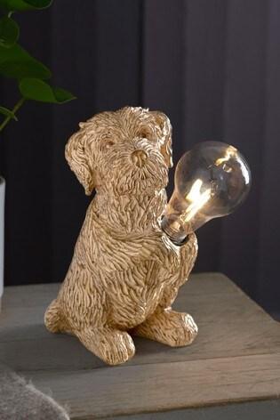 Solar Charlie the Cockapoo Dog Light