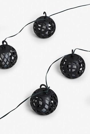 Set of 10 Solar LED Torch Line Lights