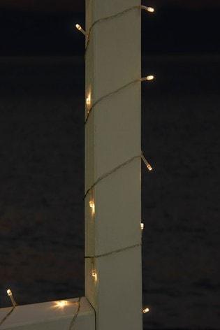 Set of 100 Solar Warm White Line Lights