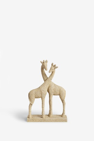 Woven Effect Giraffe Ornament