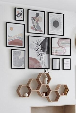 Set of 9 Framed Prints