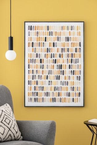 Brush Stroke Canvas Wall Art
