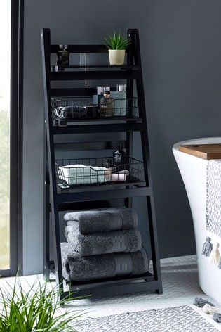 Storage Ladder With Baskets