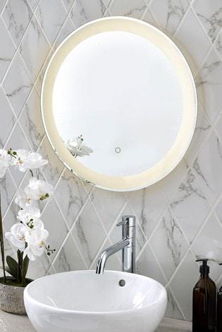 Lit De-Mist Wall Mirror
