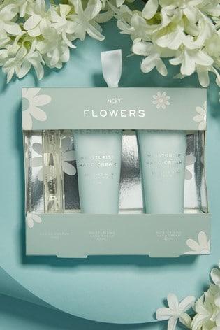 Flowers 10ml Eau De Parfum and Hand Cream Set