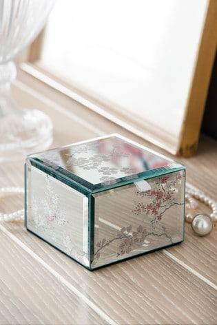 Laura Ashley Oriental Blossom Small Jewellery Box