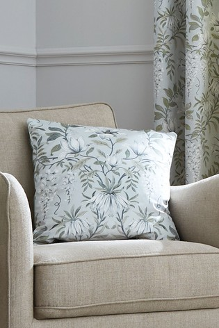 Sage Parterre Printed Cushion