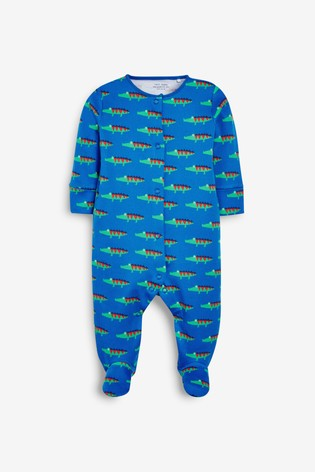 Bright Croc 3 Pack Sleepsuits (0-2yrs)