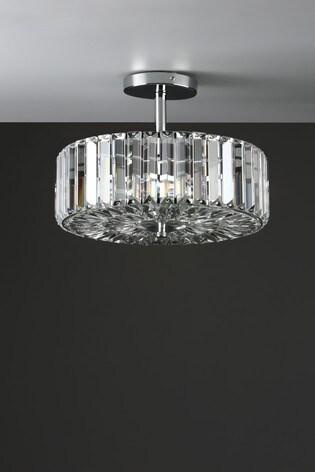 Laura Ashley Fernhurst 3 Light Art Deco Ceiling Light