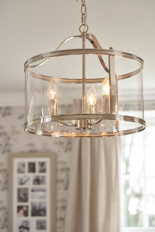 Laura Ashley Harrington 3 Light Lantern Ceiling Light