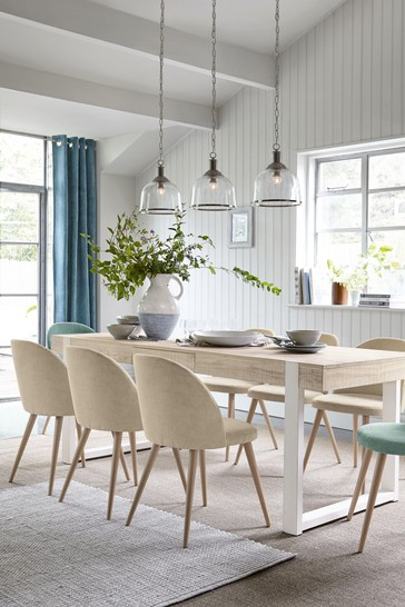 Jefferson Rustic 6-8 Extending Dining Table