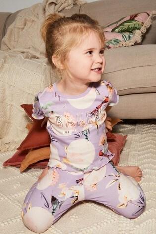 Baker by Ted Baker Lilac Pyjama Set