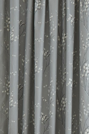 Laura Ashley Pussy Willow Pencil Pleat Curtains