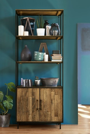 Jefferson Rustic Tall Shelf