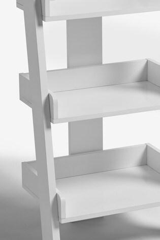 Mode White Ladder Shelf