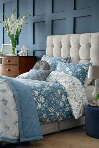 Seaspray Parterre Duvet Cover And Pillowcase Set