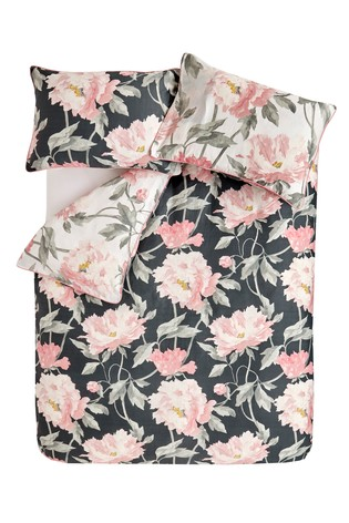 Laura Ashley Peonies Duvet Cover and Pillowcase Set