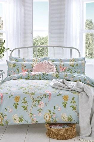 Laura Ashley Summer Palace Duvet Cover And Pillowcase Set