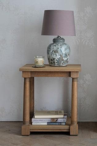 Wellington Oak Side Table by Laura Ashley