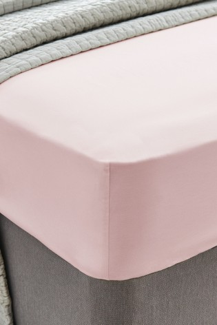 Laura Ashley 200 Thread Count Cotton Fitted Sheet