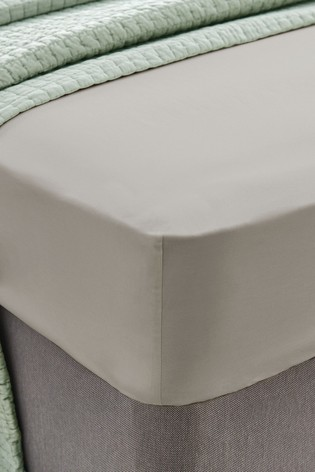Laura Ashley 400 Thread Count Cotton Fitted Sheet