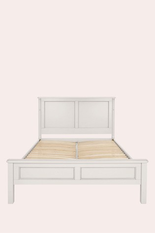Clifton Dove Grey Bed Frame by Laura Ashley