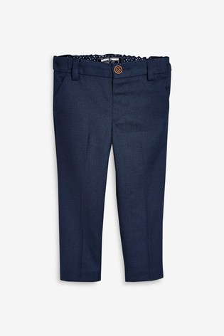 Navy Formal Trousers (3mths-7yrs)