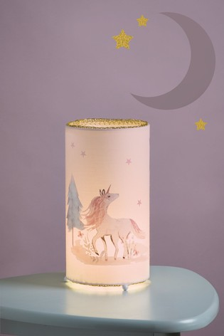 Magical Woodland Unicorn Table Lamp