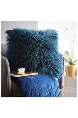 Tess Daly Faux Mongolian Cushion