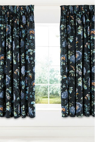 V&A Ever Bloom Lined Eyelet Curtains