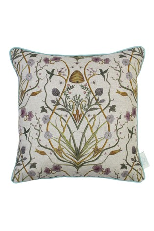 The Chateau by Angel Strawbridge Natural Potagerie Linen Cushion