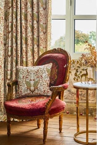 The Chateau by Angel Strawbridge Woodland Trail Cushion