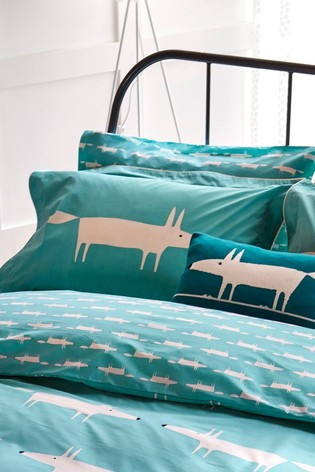 Scion Mr Fox Oxford Pillowcase