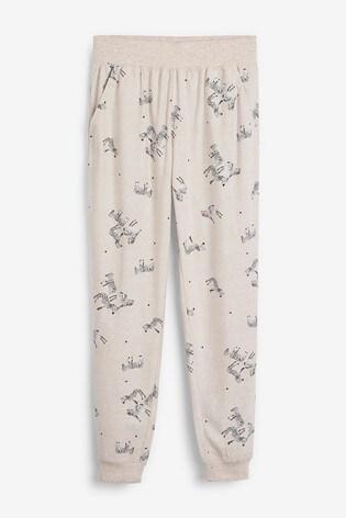 Oatmeal Zebra Cosy Pyjamas