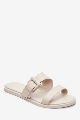 Bone Forever Comfort® Buckle Mules