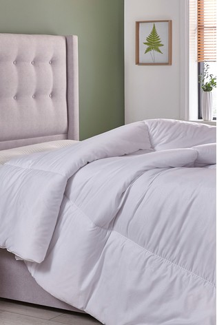 Super King White . 10.5 Tog Silentnight So Soft Duvet