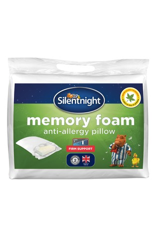 Silentnight Memory Foam Anti Allergy Pillow